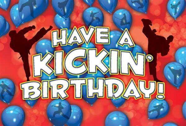 Have a Kickin' Birthday!